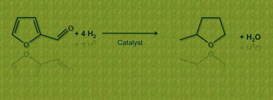 2-Methyltetrahydrofuran: Hydrogenation of Furfural (Image by DalinYebo)