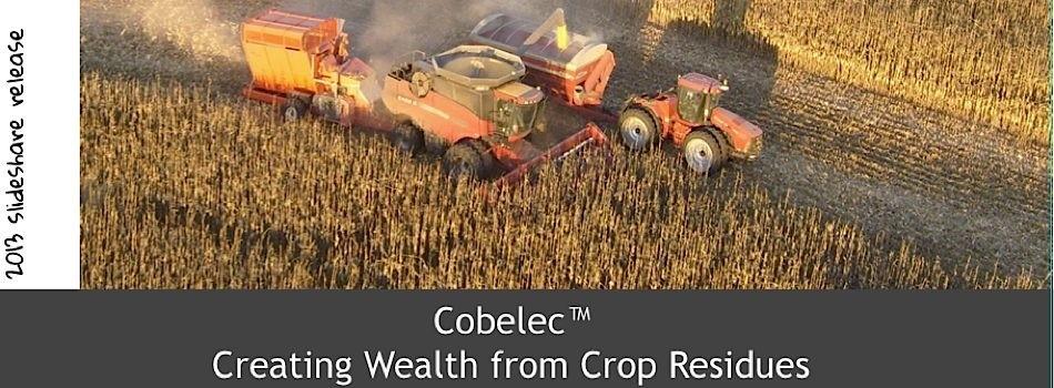 Cobelec™: Creating Wealth From Crop Residue – Investor Presentation