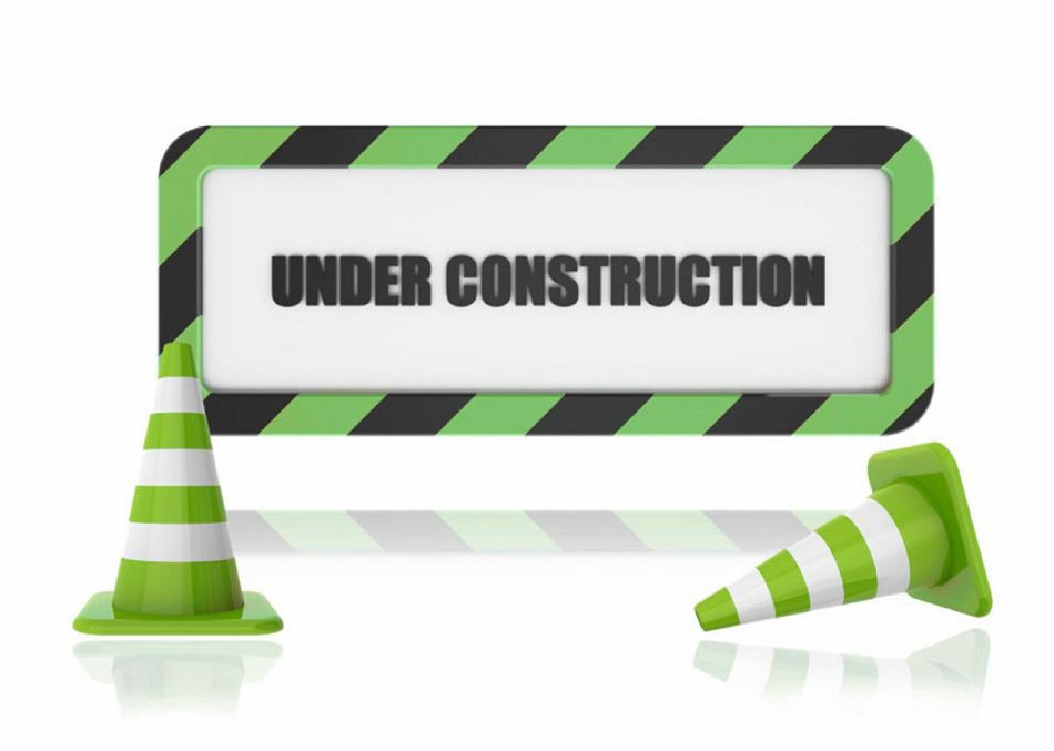 under-construction green