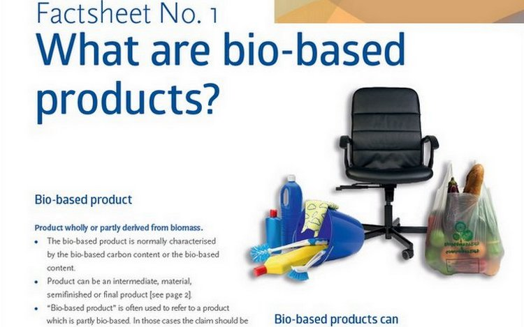 Factsheet #1: What are biobased products?